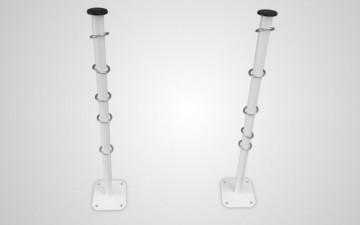Білизняні кронштейни з кільцями КБ-05